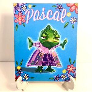 Pascal Tangled Disney Acrylic Painting